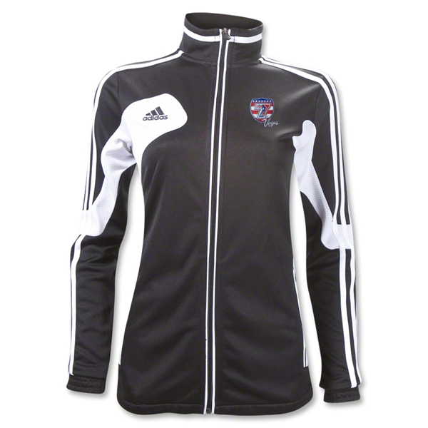 adidas USA Sevens Women's Condivo 12 Training Jacket (Black/White)