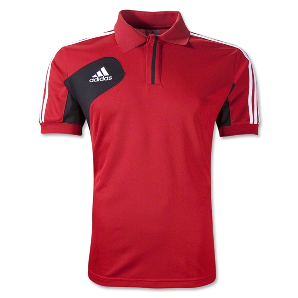 adidas Condivo 12 CL Polo (Red/Blk)