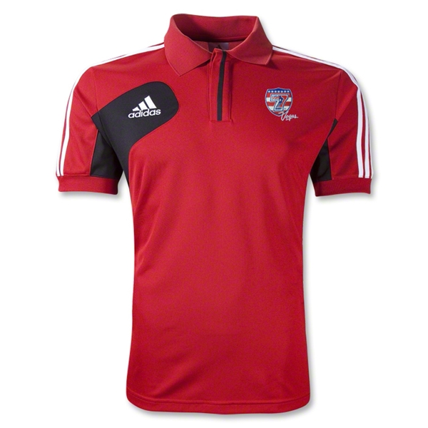 adidas USA Sevens Condivo 12 CL Polo (Red/Black)