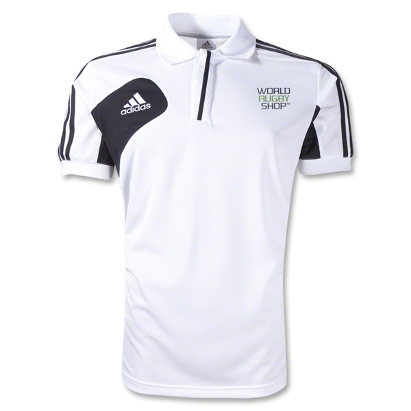 adidas World Rugby Shop Condivo 12 CL Polo (White/Black)