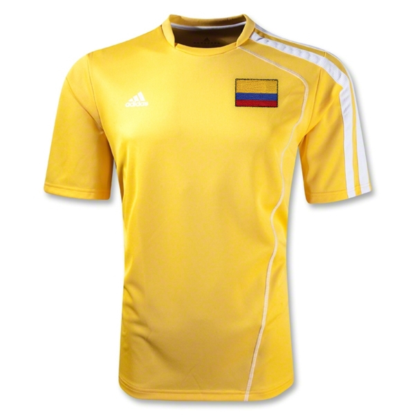Colombia Sossto Soccer Jersey (Yellow/White)