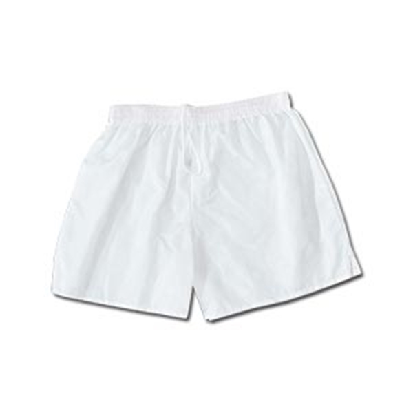 Vici Team Check Soccer Shorts (White)