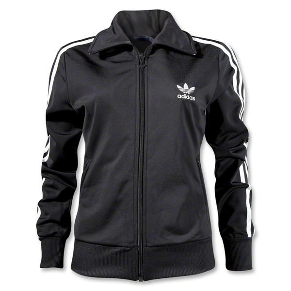 adidas Originals Women's Firebird Track Top (Blk/Wht)