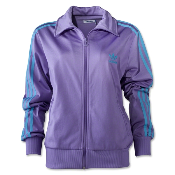 adidas Originals Women's Firebird Track Top 2012 (Purple)