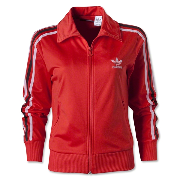 adidas Originals Women's Firebird Track Top (Red)