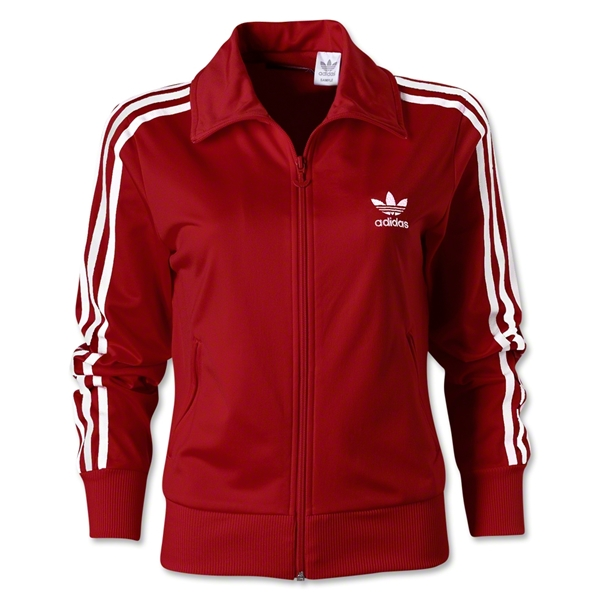adidas Originals Women's Firebird Track Top 2012 (Red/White)