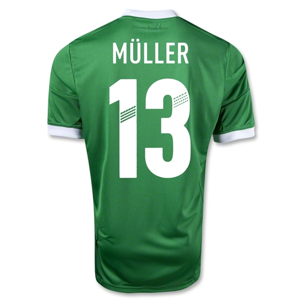 Germany 12/13 MULLER Away Soccer Jersey