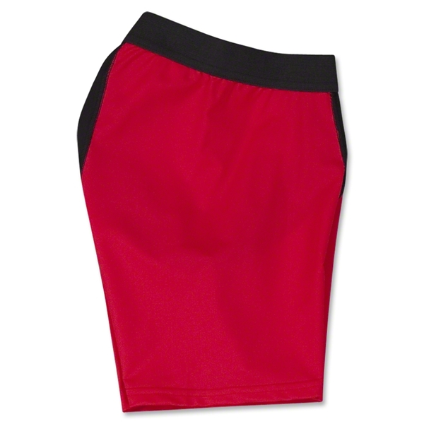 Two-Tone Compression Shorts (Red/Blk)