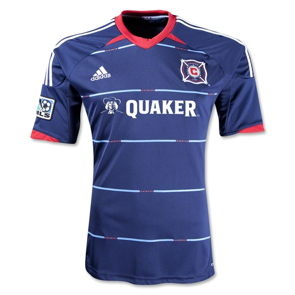 Chicago Fire 2013 Secondary Replica Soccer Jersey
