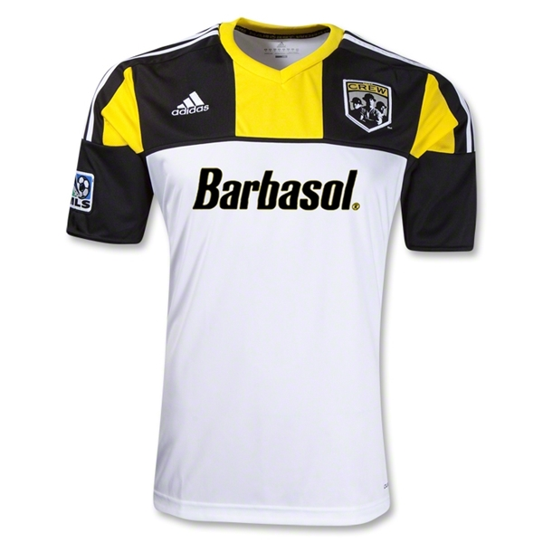 Columbus Crew 2012 Away Replica Soccer Jersey