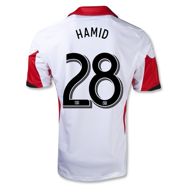 D.C. United 2013 HAMID Secondary Soccer Jersey