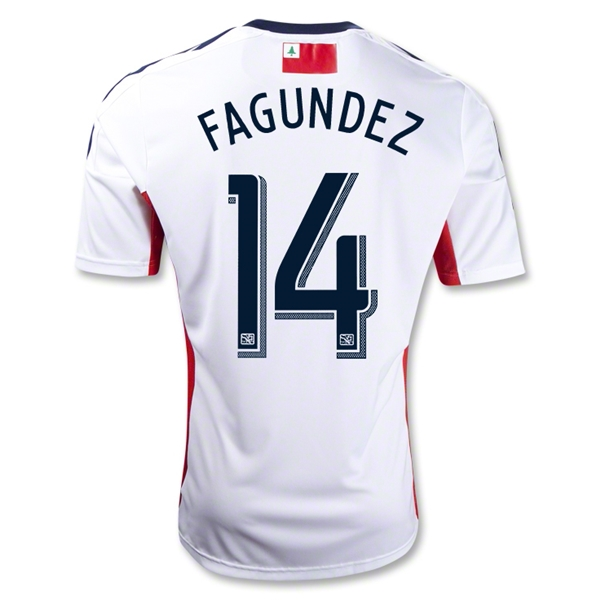 New England Revolution 2013 FAGUNDEZ Secondary Soccer Jersey