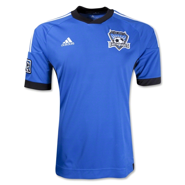 San Jose Earthquakes 2013 Secondary Replica Soccer Jersey
