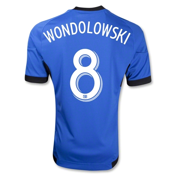 San Jose Earthquakes 2013 WONDOLOWSKI Secondary Soccer Jersey