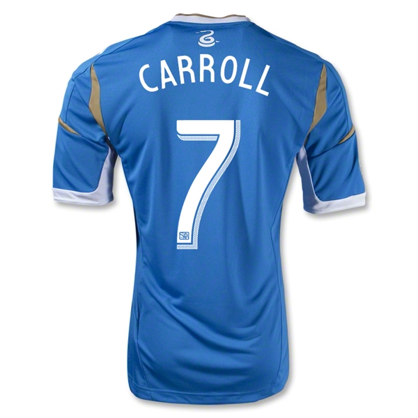 Philadelphia Union 2014 CARROLL Authentic Secondary Soccer Jersey