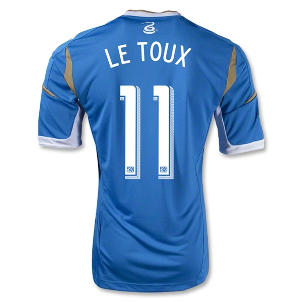 Philadelphia Union 2013 LE TOUX Authentic Secondary Soccer Jersey