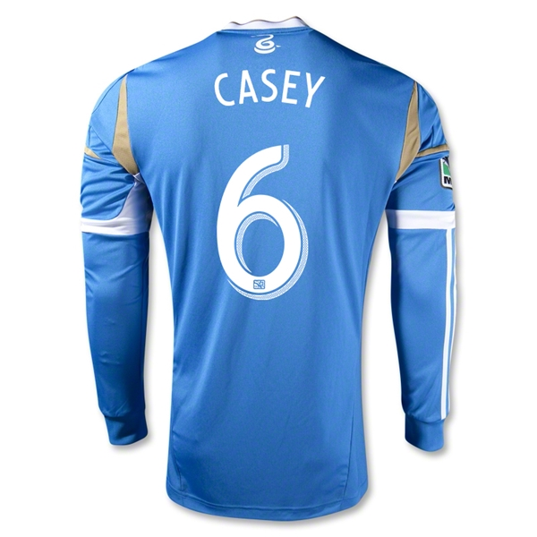 Philadelphia Union 2013 CASEY Authentic LS Secondary Soccer Jersey
