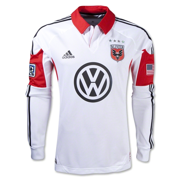 D.C. United 2013 Long Sleeve Authentic Secondary Jersey