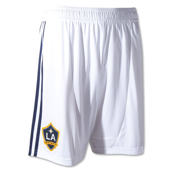 Los Angeles Galaxy 2013 Authentic Home Soccer Shorts