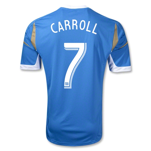 Philadelphia Union 2013 CARROLL Away Soccer Jersey