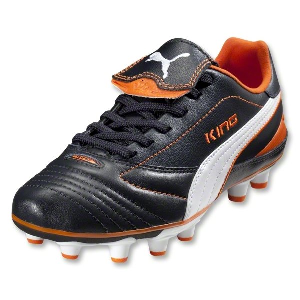 PUMA King Finale i FG Women's Cleats (New Navy/White/Team Orange)