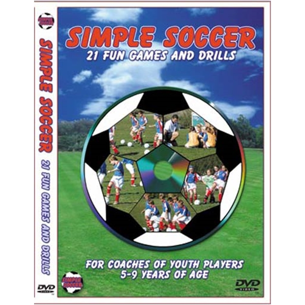Simple Soccer's 21 Fun Games and Drills DVD