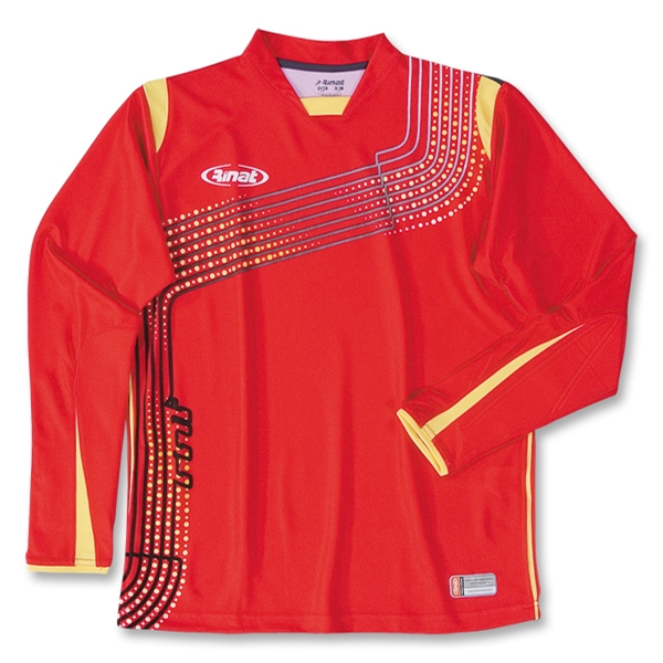 Rinat Kaos LS Goalkeeper Jersey (Red)