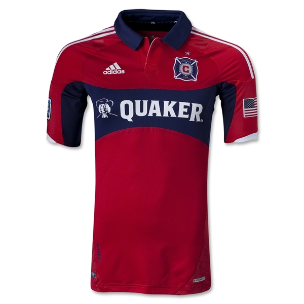 Chicago Fire 2013 Primary TechFit Soccer Jersey