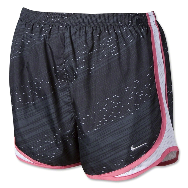 Nike Printed Tempo Women's Shorts (Black/Pink)