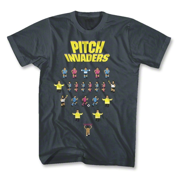 Objectivo Pitch Invaders T-Shirt (Dk Grey)