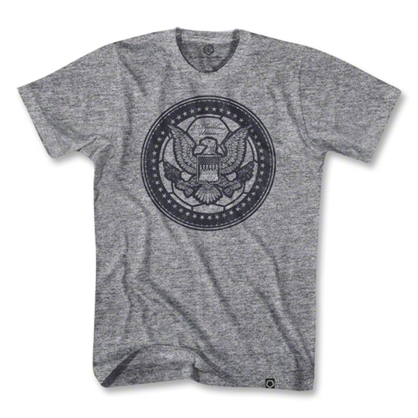 Objectivo USA Eagle Soccer Ball T-Shirt (Gray)