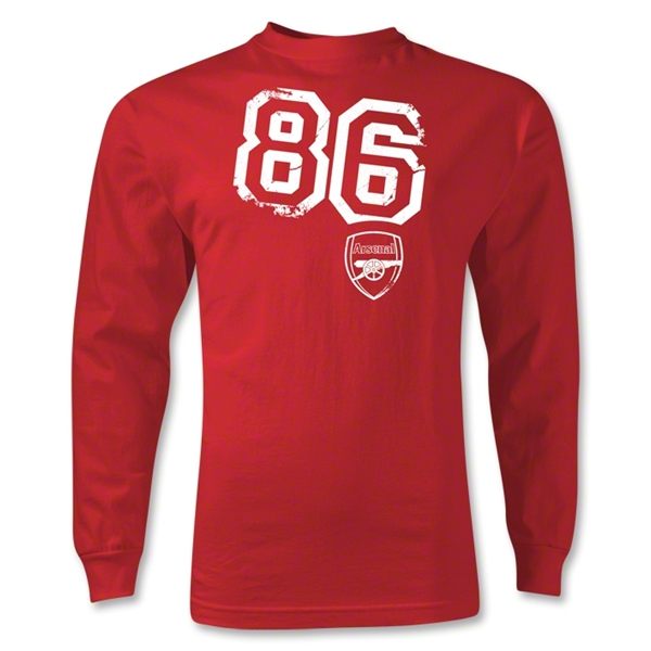 Arsenal 86 LS T-Shirt (Red)