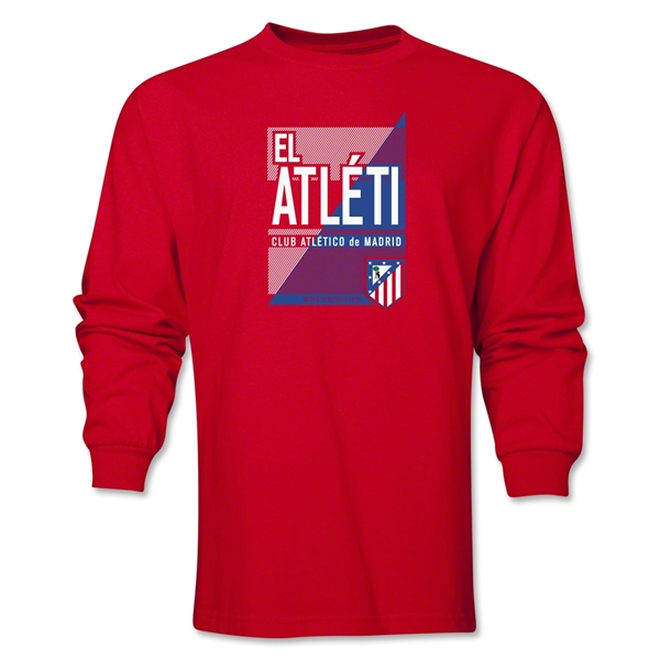 Atletico Madrid El Atleti LS T-Shirt (Red)