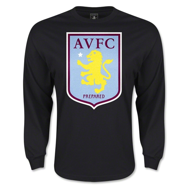 Aston Villa LS T-Shirt (Black)