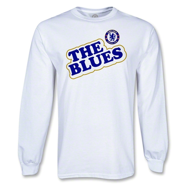 Chelsea LS The Blues T-Shirt (White)