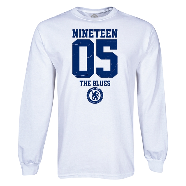 Chelsea 1905 The Blues LS T-Shirt (White)