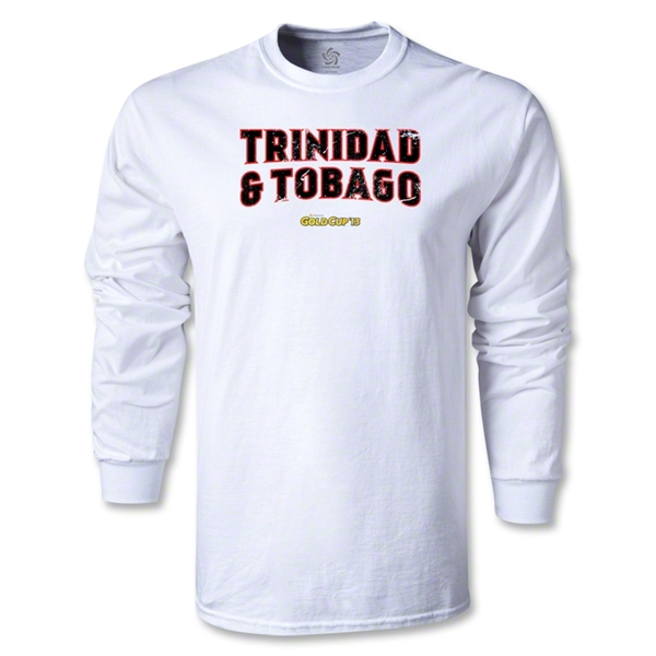 CONCACAF Gold Cup 2013 LS Trinidad and Tobago T-Shirt (White)