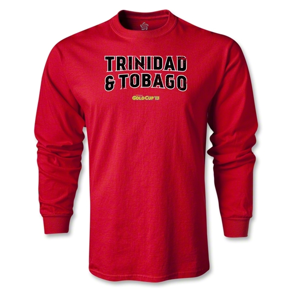 CONCACAF Gold Cup 2013 LS Trinidad and Tobago T-Shirt (Red)