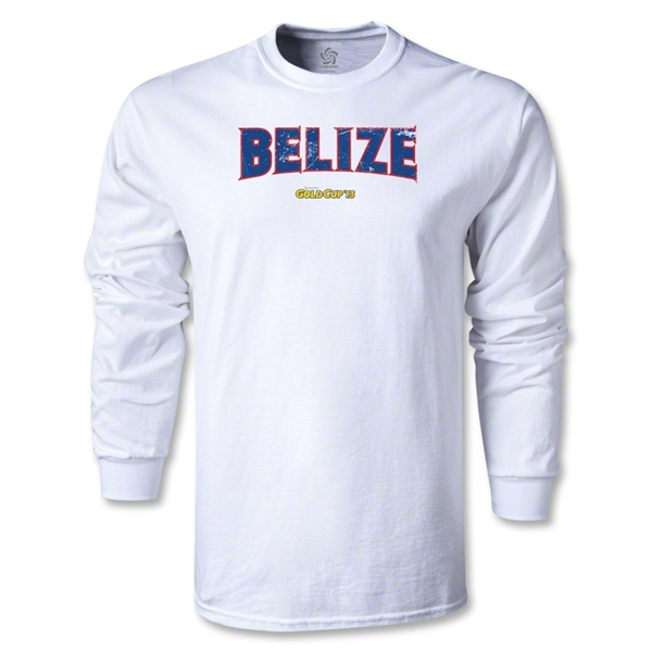 CONCACAF Gold Cup 2013 LS Belize T-Shirt (White)