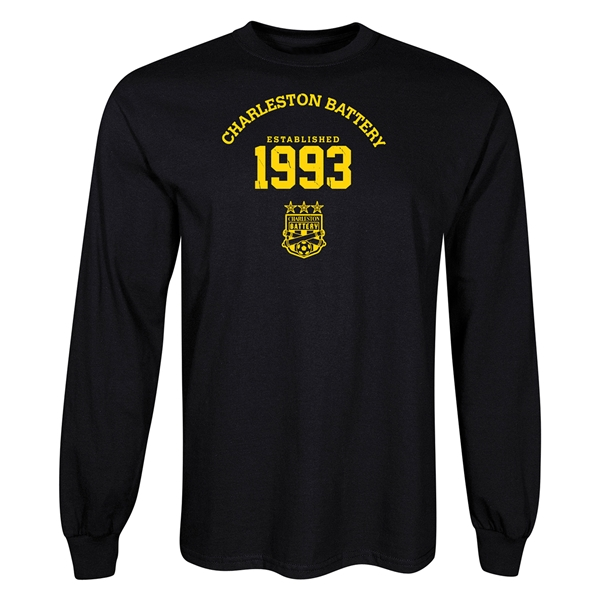 Charleston Battery 1993 LS T-Shirt (Black)