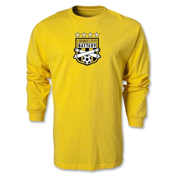 Charleston Battery LS T-Shirt (Yellow)