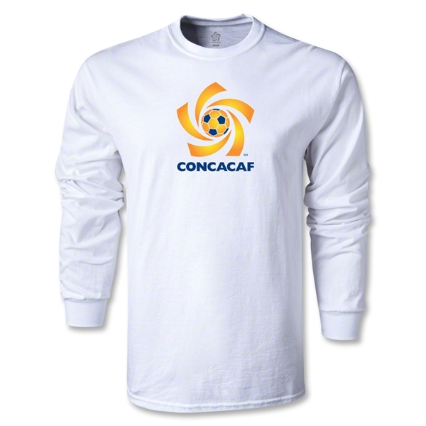 CONCACAF Men's Fashion LS T-Shirt (White)