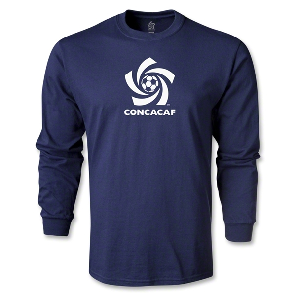 CONCACAF Men's Fashion LS T-Shirt (Navy)