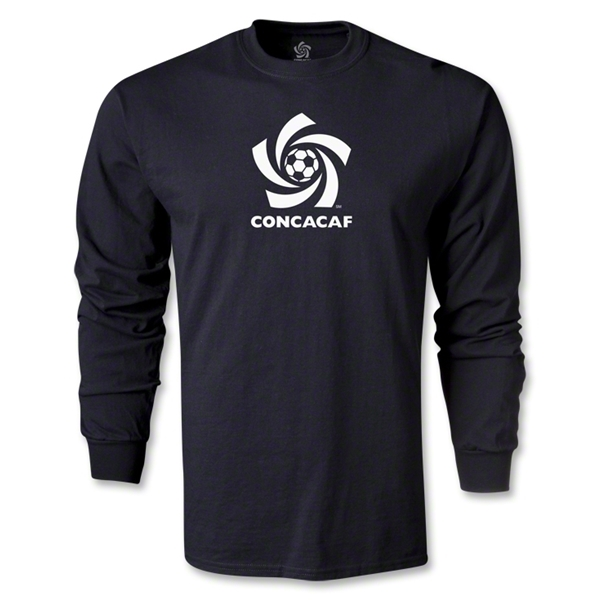 CONCACAF Men's Fashion LS T-Shirt (Black)