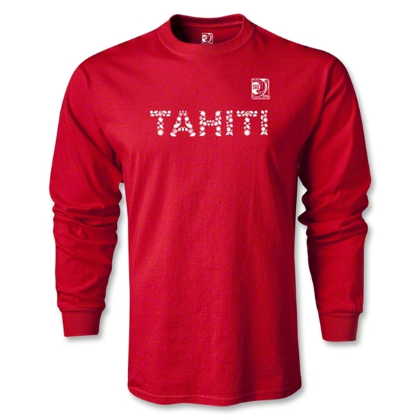 FIFA Confederations Cup 2013 Tahiti LS T-Shirt (Red)