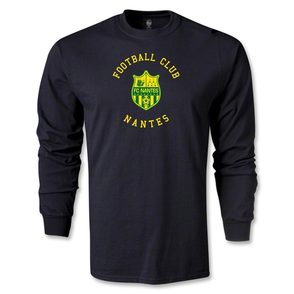 FC Nantes Graphic LS T-Shirt (Black)