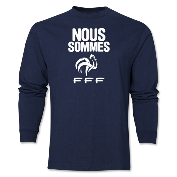 France Nous Sommes LS T-Shirt (Navy)