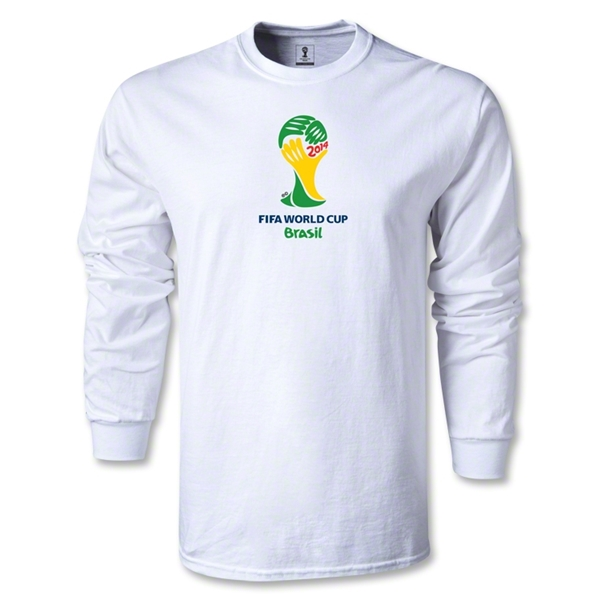2014 FIFA World Cup Brazil(TM) Emblem LS T-Shirt (Red)