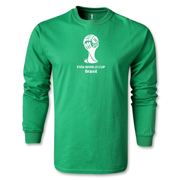 2014 FIFA World Cup Brazil(TM) LS Emblem T-Shirt (Green)