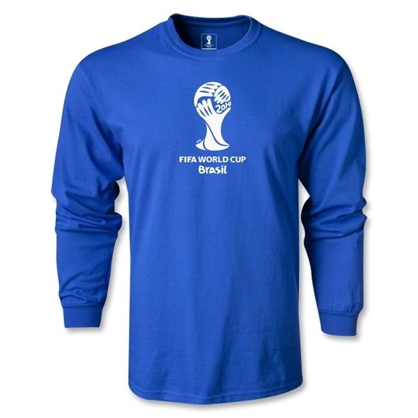 2014 FIFA World Cup Brazil(TM) LS Emblem T-Shirt (Royal)